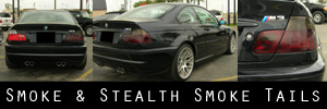 01-06 BMW E46 M3 Coupe Smoked Taillight Kit