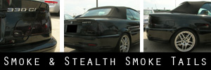 01-06 BMW E46 M3 Convertible Smoked Taillight and Trunk TBL Kit