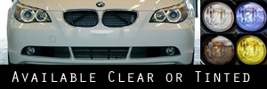 04-10 BMW E60 5 Series Headlight Protection Kit