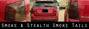 07-10 Ford Edge Smoked Taillight Kit
