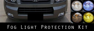 07-08 Honda Element SC Fog Light Protection Kit