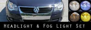 07-11 Volkswagen Eos Headlight and Fog Light Protection Kit