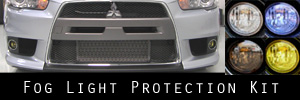 08-15 Mitsubishi Lancer Evolution X Fog Light Protection Kit
