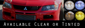 03-06 Mitsubishi Evolution Headlight Protection Kit