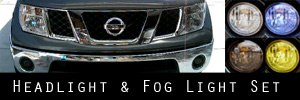 05-08 Nissan Frontier Headlight and Fog Light Protection Kit