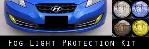 10-12 Hyundai Genesis Coupe Fog Light Protection Kit