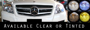 10-12 Mercedes-Benz GLK350 Headlight Protection Kit