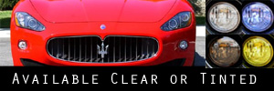08-18 Maserati GranTurismo Headlight Protection Kit