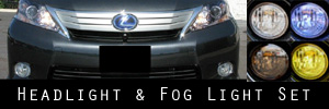 10-11 Lexus HS250h Headlight and Fog Light Protection Kit