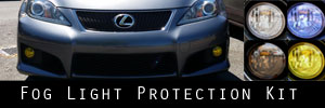 08-13 Lexus IS-F Fog Light Protection Kit