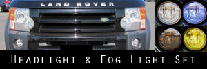 10-13 Land Rover LR4 Headlight and Fog Light Protection Kit