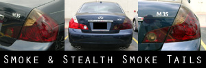 06-07 Infiniti M35 / M45 Smoked Taillight Kit