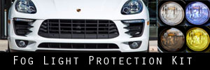 15-18 Porsche Macan S Fog Light Protection Kit