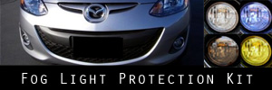 11-14 Mazda Mazda2 Fog Light Protection Kit
