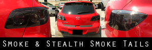 04-09 Mazda Mazda3 5 Door Smoked Taillight Kit