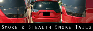 07-12 Mitsubishi Outlander Smoked Taillight Kit