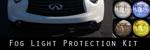 14-16 Infiniti QX70 Fog Light Protection Kit