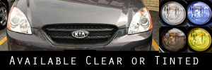 07-13 Kia Rondo Headlight Protection Kit