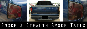 98-05 Chevrolet S-10 Pick-up Smoked Taillight Kit