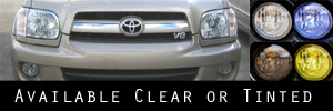 05-07 Toyota Sequoia Headlight Protection Kit