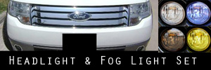 08-09 Ford Taurus X Headlight and Fog Light Protection Kit