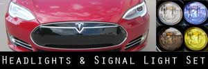 12-15 Tesla Model S Headlight and Signal Light Protection Kit