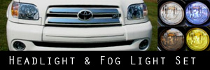 05-06 Toyota Tundra Regular and Access Cab Headlight and Fog Light Protection Kit