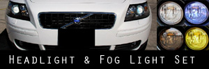 05-07 Volvo V50 Headlight and Fog Light Protection Kit