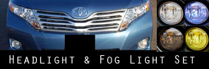 09-15 Toyota Venza Headlight and Fog Light Protection Kit