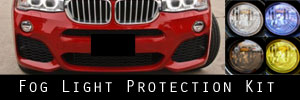 15-18 BMW X4 Fog Light Protection Kit