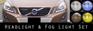 10-13 Volvo XC60 Headlight and Fog Light Protection Kit
