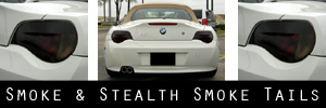06-08 BMW Z4 and M Coupe Smoked Taillight and Side Reflector Kit