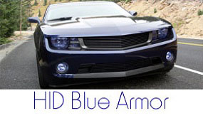 HID Blue Lighting Protection Film