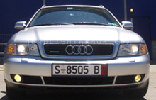 Audi A4 GT Yellow Headlight Protection Kit