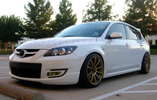 Mazda Mazdaspeed3 GT Yellow Headlight Protection Kit