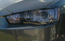 Mitsubishi Lancer Light Smoked Headlight Protection Kit