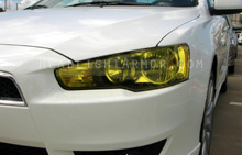 Mitsubishi Lancer GT Yellow Headlight Protection Kit