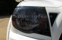 Toyota Tacoma Light Smoked Headlight Protection Ki