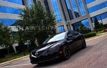 Mazda6 Light Smoked Headlight Protection Kit