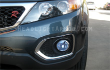 Kia Sorento HID Blue Fog Light Protection Kit