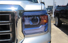 GMC Sierra HID Blue Headlight Protection Kit