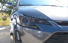 Scion tC Smoked Headlight Protection Kit