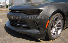 Chevrolet Camaro Smoked Headlight Protection Kit