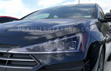 Hyundai Elantra Light Smoked Headlight Protection Ki