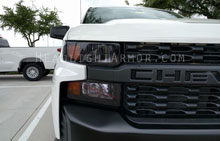 Chevrolet Silverado 1500 Custom Light Smoked Headlight Protection Ki