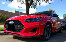 Hyundai Veloster Light Smoked Headlight Protection Ki