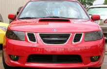 Saab 9-2x Smoked Headlight Protection Kit