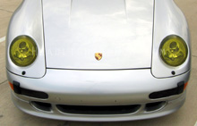Porsche 993 911 GT Yellow Headlight Protection Kit