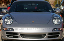 Porsche 911 Clear Headlight Protection Kit