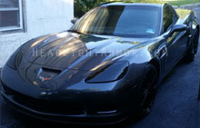Chevrolet Corvette Dark Smoke Headlight Protection Kit